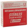 Lames de bistouris stériles Euromedis