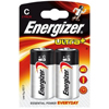 2 piles alcalines LR14 Energizer ultra+