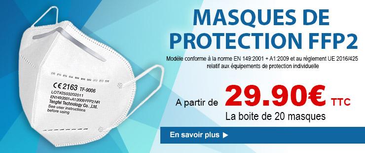FFP2 - Masque de protection