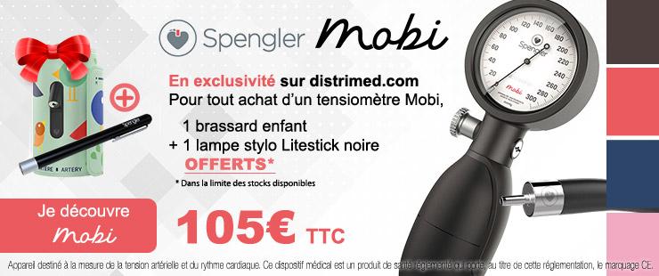 Nouveau tensiomètre MOBI de Spengler