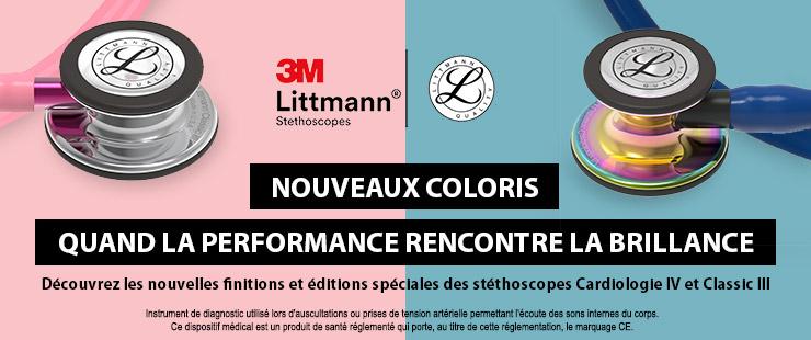 Nouveaux coloris Littmann 2020