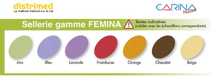 Sellerie gamme FEMINA