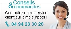 Notre service clients est à votre écoute