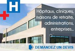 hopitaux cliniques collectivités ... demandez un devis