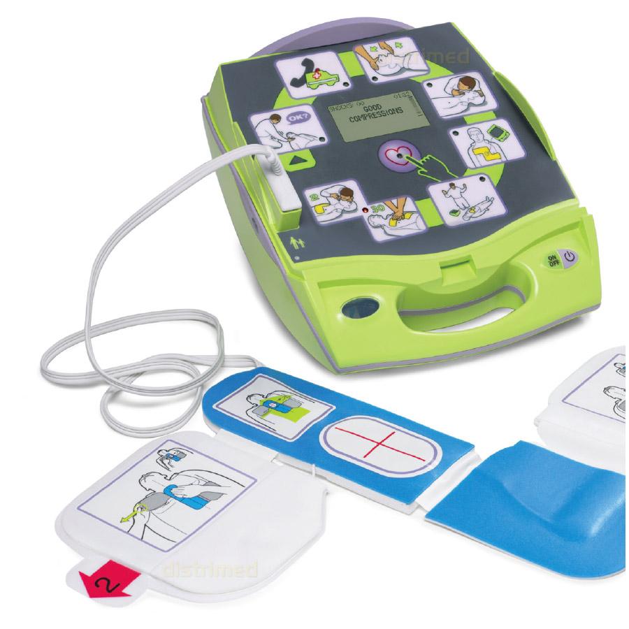 Défibrillateur automatique ZOLL AED Plus + armoire.