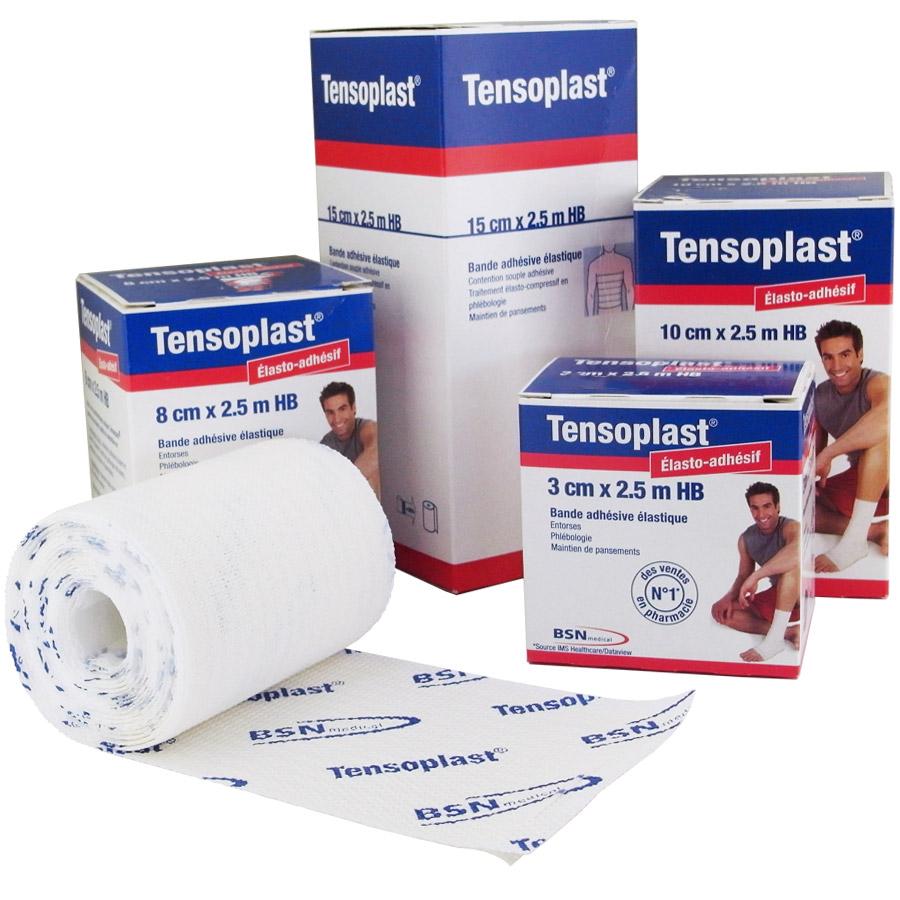 Bande adhésiveélastique Tensoplast HB # Bois Bandé Avis Medical
