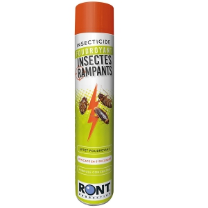 Insecticide pour insectes rampants