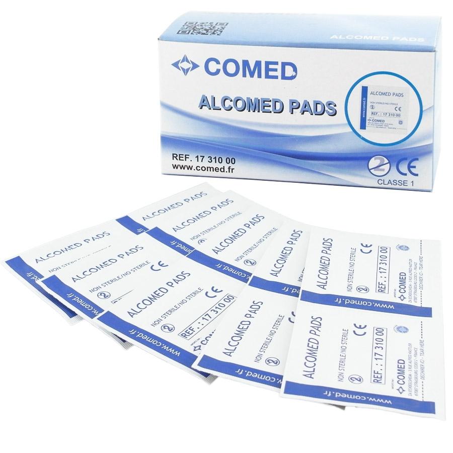 tampons alcoolis s alcomed tampons impr gn s d 39 alcool isopropylique. Black Bedroom Furniture Sets. Home Design Ideas