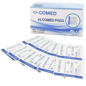 Tampons alcoolisés ALCOMED