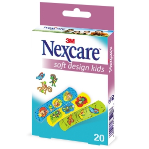 Pansements Nexcare Soft Kids animaux