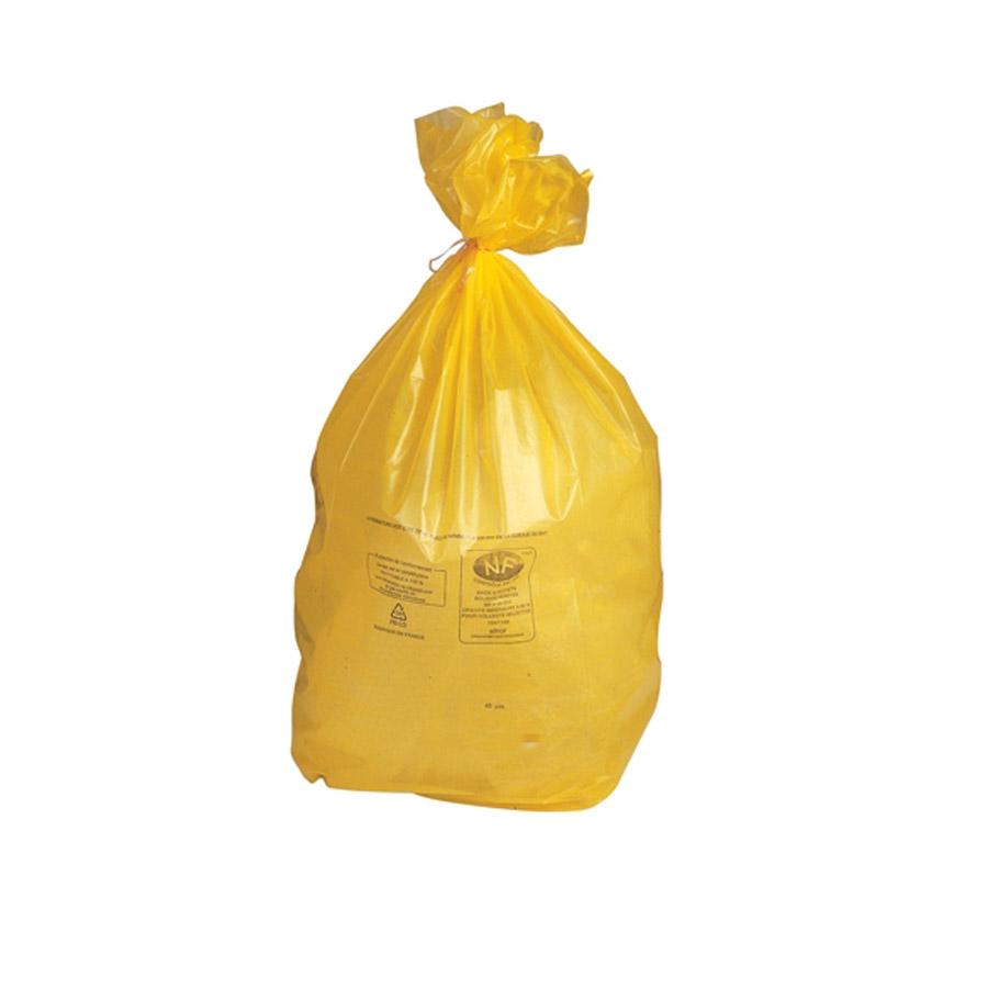 Sacs poubelle jaune 110 litres - Poubelle cuisine jaune ...