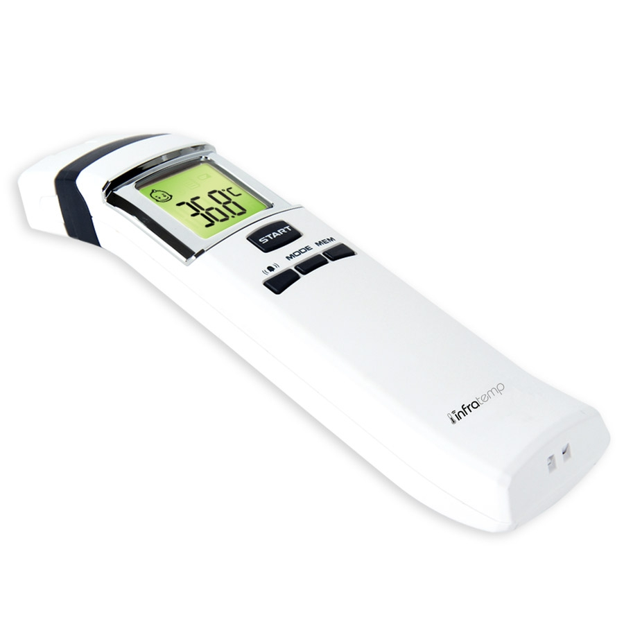Thermometre infratemp 2 infrarouge sans contact - Thermometre infrarouge cuisine ...