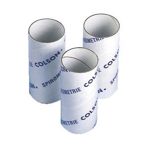 Embouts cartons pour spiromètres et débitmètres