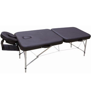 Table de massage pliante en aluminium