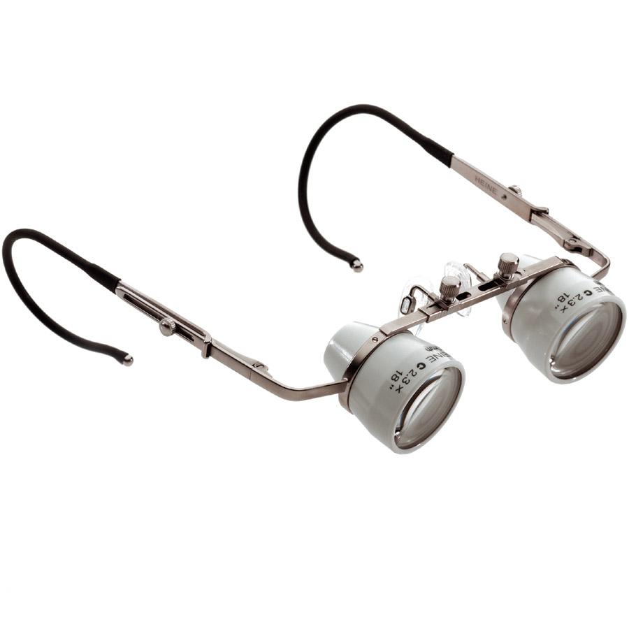 Loupes binoculaires C 2.3x HEINE sur lunettes 81008a082c8e