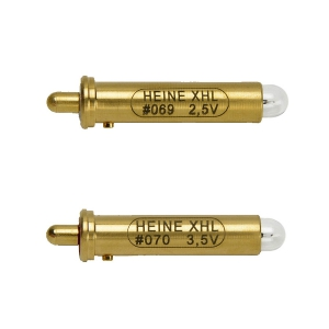 Ampoule HEINE 2,5 V #069 ou 3,5 V #070 pour Ophtalmoscopes BETA 200