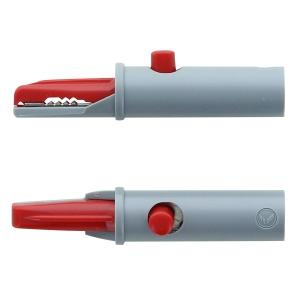 Pinces crocodiles pour électrodes à languette