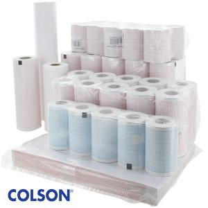 Papier compatible pour ECG Colson et Cardiette