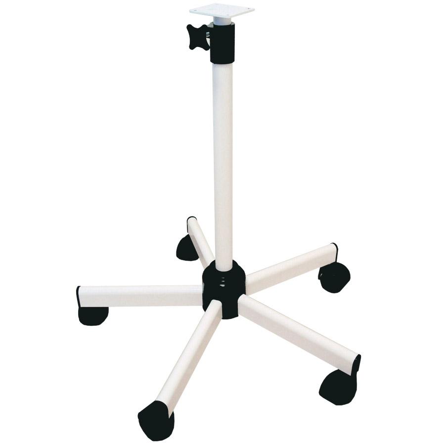 pied roulant t lescopique pour lampes lid. Black Bedroom Furniture Sets. Home Design Ideas