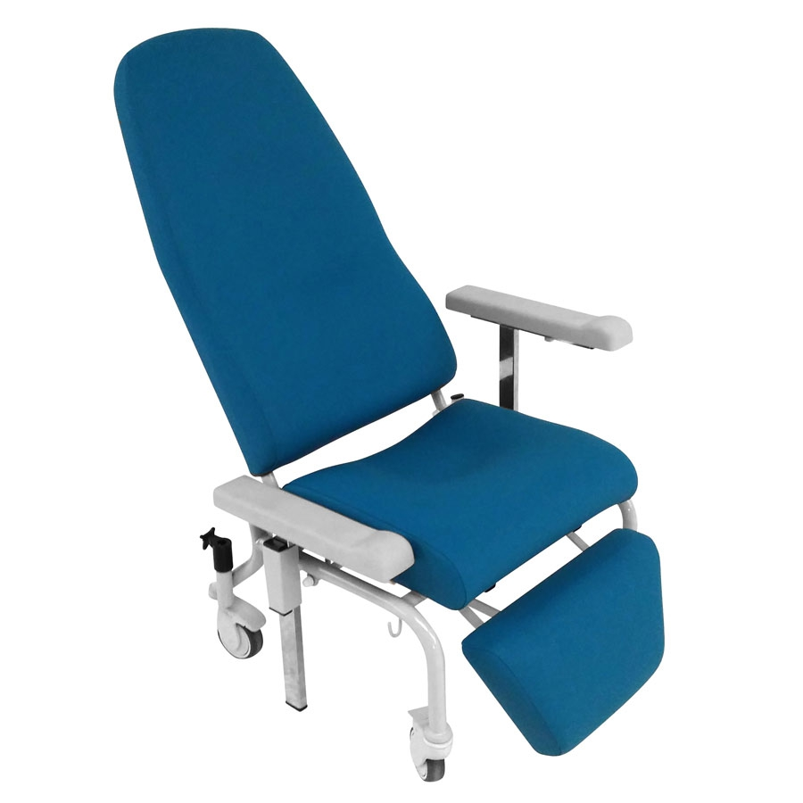fauteuil de repos a dossier inclinable et jambiere relevable