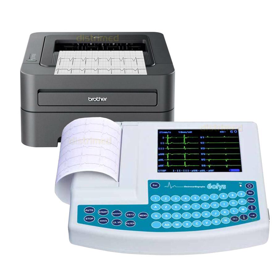 electrocardiographe portable eolys imprimante laser brother. Black Bedroom Furniture Sets. Home Design Ideas