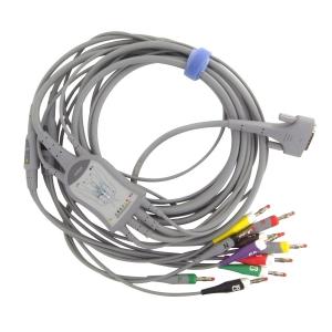 Câble patient 10 fils pour ECG EDAN SE-301