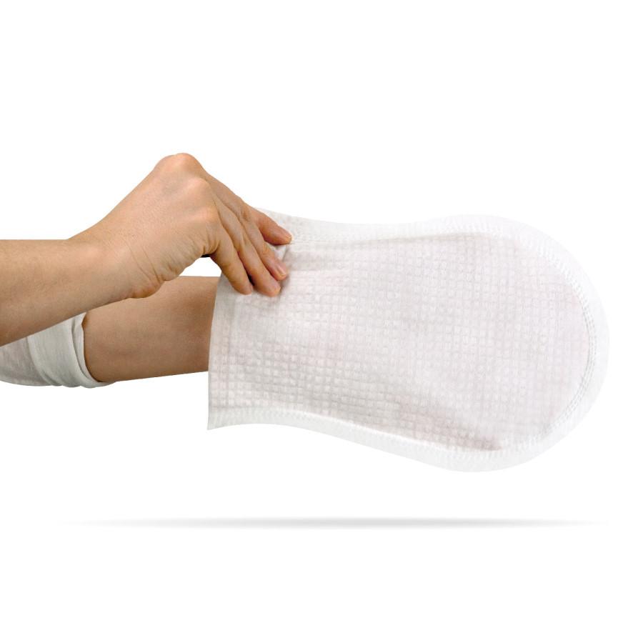 gants de toilette corporelle pr imbib s aqua de cleanis gants pour toilette compl te sans eau. Black Bedroom Furniture Sets. Home Design Ideas
