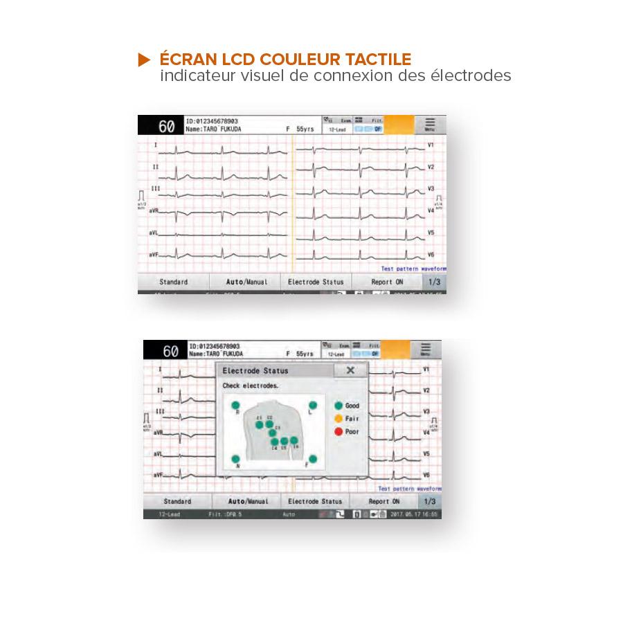 Electrocardiographe Fukuda Denshi Cardimax FCP 8100