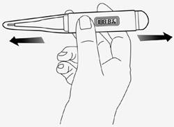 thermometre sans pile thermogreen
