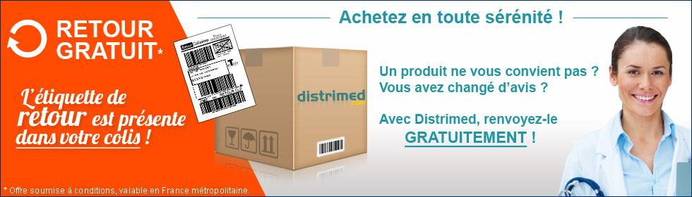 Avec Distrimed.com, vous avez le droit de vous tromper ou tout simplement de changer d'avis