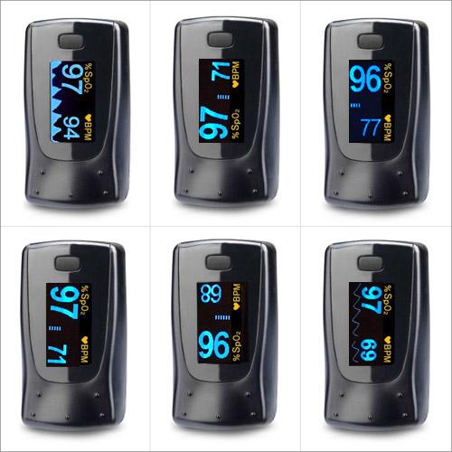 Oxymetre Edan H10 : 6 modes d'affichage