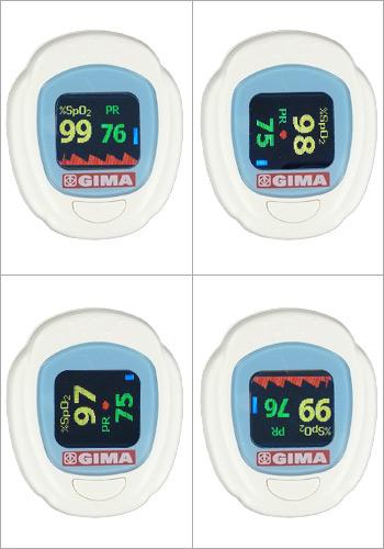 Oxymètre pediatrique OXY-PED : 4 modes d'affichage