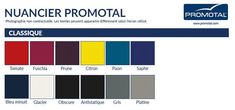 Coloris sellerie Promotal